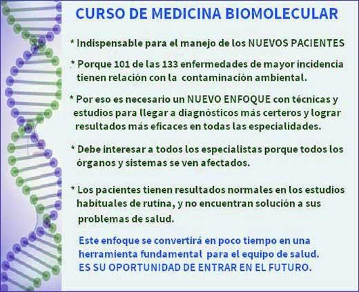 CURSO MEDICINA BIOMOLECULAR
