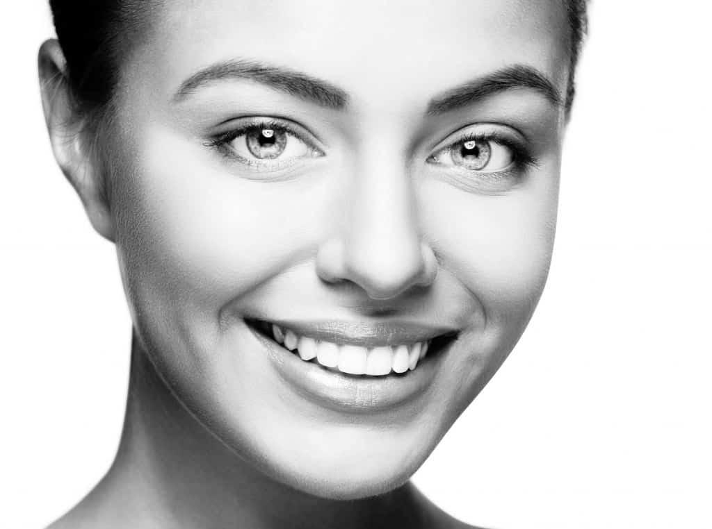 37158436 - beautiful woman smile. teeth whitening. dental care.