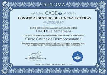 diploma curso dermocosmiatria